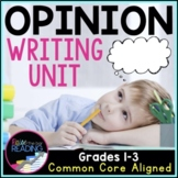 Opinion Writing Unit: Posters, Opinion Graphic Organizers, Writing Activities