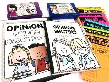 Opinion Writing Unit SECOND GRADE