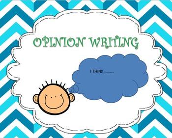 Opinion Writing Unit ( Writer's Workshop)