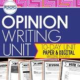 Opinion Writing - Writing a Persuasive Business Letter - Opinion Writing Lessons
