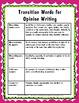 Opinion Writing Unit for the Common Core