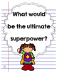 Opinion Writing: What would be the ultimate superpower?