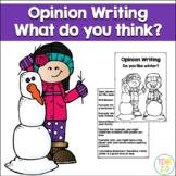 Opinion Writing Winter