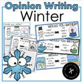 Winter Opinion Writing / Would You Rather?