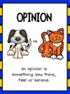 Opinion Writing: Writing Opinions with Little People