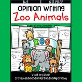 Zoo Animals Opinion Writing