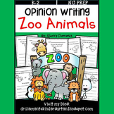 Zoo Animals Opinion Writing