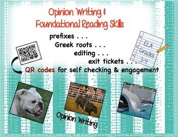 Opinion Writing and Foundational Skills
