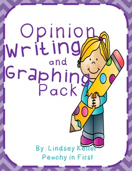 Opinion Writing and Graphing Pack