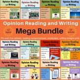 Opinion Writing and Reading Mega Bundle