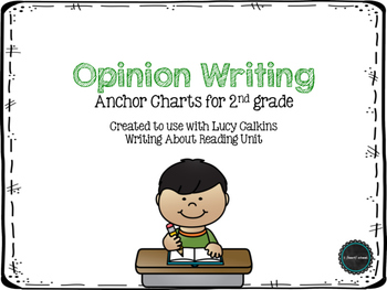 Opinion Writing for 2nd Grade