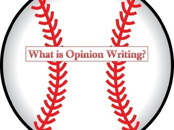 Opinion Writing for 4th and 5th grade