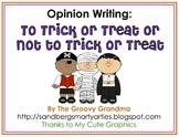 Opinion Writing for Halloween