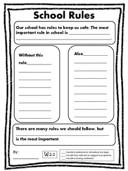 Opinion Writing for the Common Core