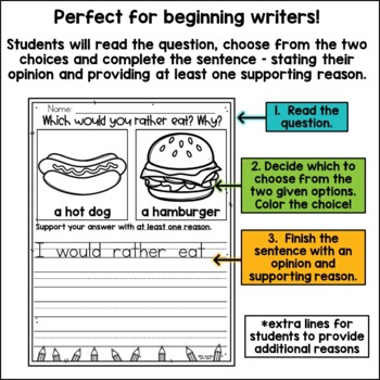 Opinion Writing {freebie}