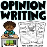 Opinion Writing {freebie}