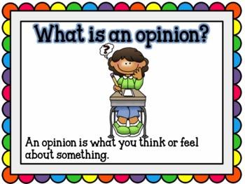 Opinion Writing in English