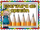 Opinion Writing in Spanish