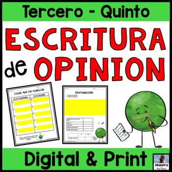 Opinion Writing in Spanish / Escritura de opinion