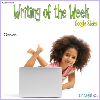 Opinion Writing of the Week for Google Slides