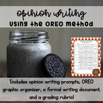 Opinion Writing using OREO Method