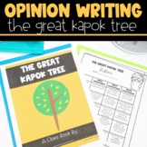 Earth Day Opinion Writing with The Great Kapok Tree