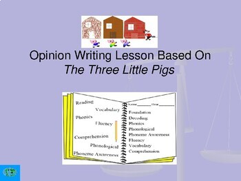 Opinion Writing Based on The Three Little Pigs