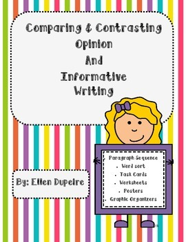Opinion and Informative Writing: Comparison