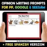 Opinion and Persuasion Writing Prompts for Google and Sees