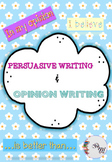 Opinion and Persuasive writing templates +50 templates DIFFERENTIATED