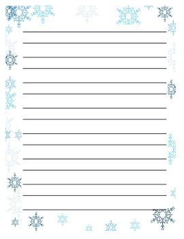 Opinion on best Winter Activity Writing Paper