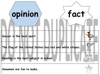 Opinion or Fact/Opinión o Hecho