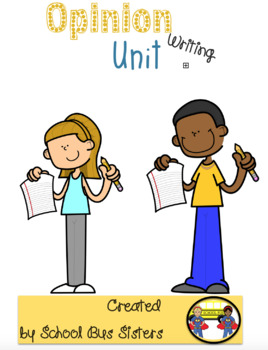 Opinion writing activity packet