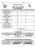 Opinion writing rubric and checklist