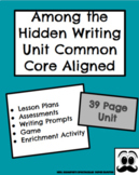 """Opinion/Argumentative Common Core Writing Unit- """"Among the Hidden"""""""