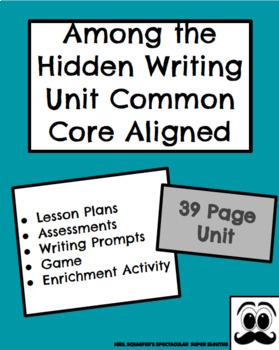 "Opinion/Argumentative Common Core Writing Unit- ""Among the"