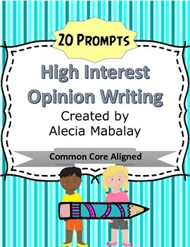 Opinion/Persuasive Writing Prompts