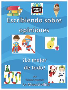 Opiniones (Escribiendo sobre opiniones en la primaria)