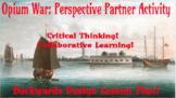 Opium Wars Perspective Partner Activity