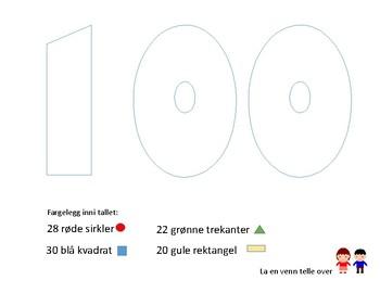 Oppgaver til 100 dagers fest