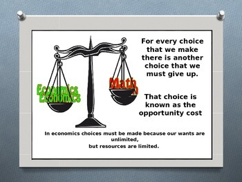 Opportunity Cost + Full Cost