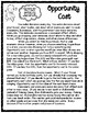 Opportunity Cost Informational Text with Activity Sheet