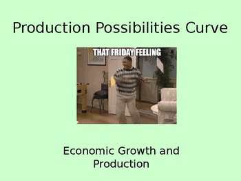 Opportunity Costs and Production Possibilities Curves