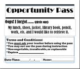 Opportunity Pass