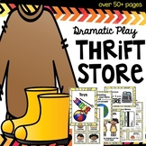 Opportunity Thrift Store Dramatic Play pack for toddlers, preschoolers and beyon