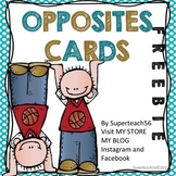 Opposite Cards FREEBIE