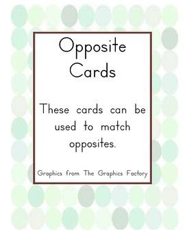 Opposite Cards