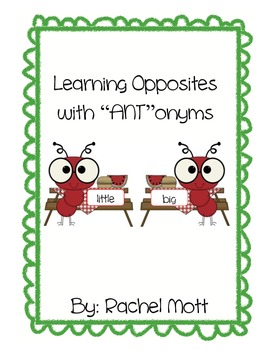 Opposite Fun with ANTonyms! Please Leave Feedback!!