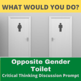 Critical Thinking What Would You Do Activity: Opposite Gen