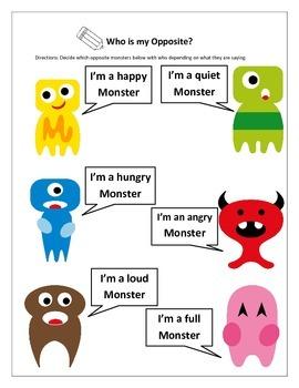 Opposite Monsters